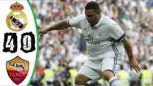 Video: Real Madrid Legends vs AS Roma Legends 4-0 - Highlights & Goals